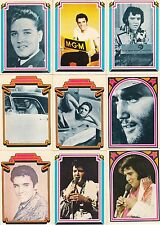 ELVIS PRESLEY 1978 DONRUSS BOXCARS COMPLETE BASE CARD SET OF 66 MU