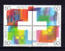 SUISSE SWITZERLAND Yvert  n° 1368/1371 neuf sans charnière MNH