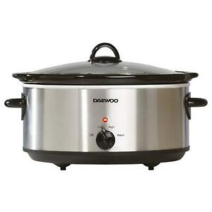 Daewoo 6.5L Slow Cooker