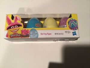 Play-Doh Spring eggs