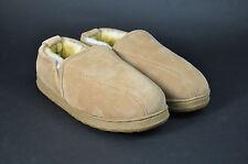 Rj's Fuzzies Sheepskin Slipper Shoe | Men's Romeo Chestnut Leather | Size 10 M