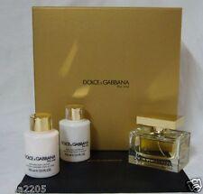 Dolce & Gabbana D&G The One 75 ml EdP Spray+100 ml Body Lotion+100 ml Duschgel