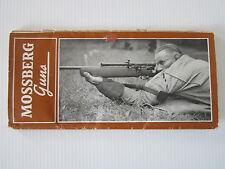 Vintage / Antique 1938 Mossburg Guns Firearms Rifle Shotgun brochure catalog