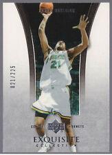 Jamaal Magloire 04-05 UD Exquisite #26 Kentucky Wildcats (Jersey #ed 21) 021/225