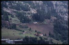 35mm slide+© SBB CFF FFS Ae 6/6 11517 Wassen Switzerland 1981 original