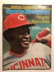 1976 Sports Illustrated CINCINNATI Reds JOE MORGAN No Label BASEBALL PREVIEW N/L