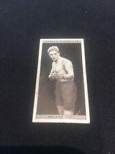 Roland Todd 46 1928 Ogdens Boxing Cigarette card Boxer Pugilists in action