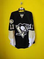PITTSBURGH PENGUINS #11  JORDAN STAAL REEBOK NHL JERSEY MENS- 48
