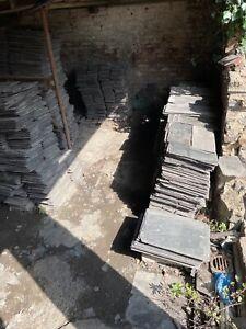 "reclaimed roofing slates 12""x24"" £1.50 per slate."