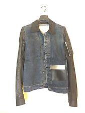 Rick Owens DRKSHDW Giacca Denim Blue Shirt Jacket Size XS 15SS 100%Authentic NWT