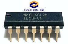 5pcs Tl084cn Tl084 Quad High Slew Rate Jfet Input Op Amp