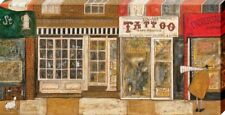 Sam Toft On a Street Where You Live Large Canvas Print 50 x 100cm