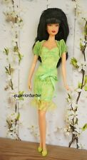 August Birthstone Beauties Miss Peridot Model Muse Outfit