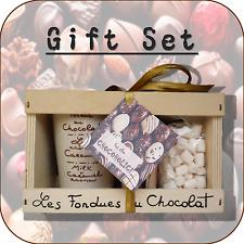 """""""GOURMANDISE"""" fondue au chocolat + mini Guimauve Ensemble Cadeau AUX ANYSETIERS DU ROY"""