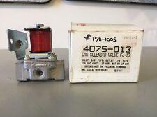 ROBERTSHAW 4075-013 GAS SOLENOID VALVE, 120 V, FJ-13