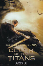 Sam Worthington Signed Autograph Clash Of The Titans 4x6 Card wCoa Collectible