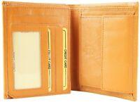 Akzent Herren Geldbörse Echt-Leder 10 x 12 cm Braun X3000313003