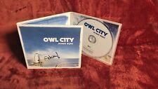 Hand Signed Owl City : Ocean Eyes CD (2010) CD Album