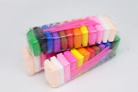 12 color x 10g Kids DIY Malleable Fimo Polymer Modelling Soft Clay Plasticine