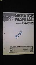 Proton 220 service manual Original Repair book car radio stereo amp amplifier