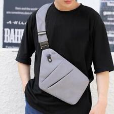 Men Messenger Bag Shoulder Hidden Chest Pack Bags Anti Crossbody Theft F0X3