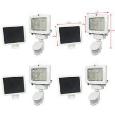 4 PACK 80 SMD LEDs Outdoor Solar Motion Sensor Security Flood Light Spot 80 100