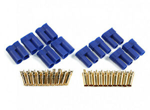 AMASS EC5 Male & Female (Pair) 5mm Premium High Discharge Bullet/Housing UKSTOCK