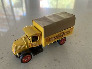 """Matchbox. Models of Yesteryear. Y30. 1920 Model AC Mack. """"CONSOLIDATED""""."""