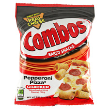 1 X Combos Pepperoni Pizza Flavour (Cracker) 6.3oz Bags  - American Import