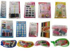 Home Travel Sewing Kit Thread Bobin Machine Needle Elastic Safety Pin Press Stud