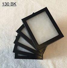 "#130 (24) Riker Mount Display Case Shadow Box Frame Tray  5"" X 4"" X 3/4"""