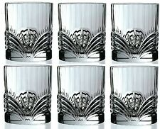 RCR Crystal Aurea Set Of 6 Crystal Tumblers Whiskey / Wine Water Tumbler 21cl
