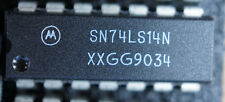 NOS Motorola 74LS14N  DIP14 Qty 1             Ships:  in USA Tomorrow!