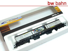 Roco H0 47979 Opel Millennium Express Container-Tragwagen Sgis DB AG Wag. 10 Neu