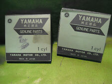 YAMAHA XS1 XS2 TX650 XS650B (2) PISTON RING SETS 1ST OS. OEM # 256-11610-10-00