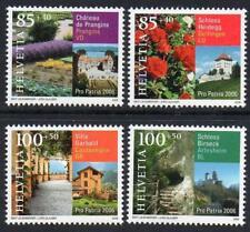 SWITZERLAND MNH 2006 SG1687-90 Pro Patria, Tourism