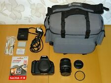 Canon EOS 600D 18.0MP SLR Camera - Kit with EF-S 18-55mm IS + EXTRAS ..
