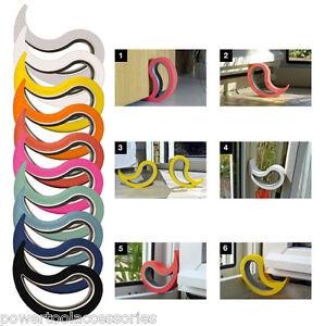 Stoppy - Rubber Door Stop Jam, Door Wedge & Window Stopper - 14 Bright Colours