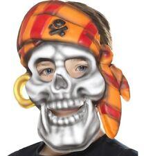 infantil EVA Esqueleto Pirata Máscara Disfraz Foam & Elástico Correa De SMIFFYS