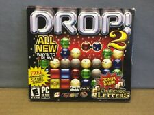 (AE) Drop 2 & Challenge Letters CD-ROM PC Video Game EGames