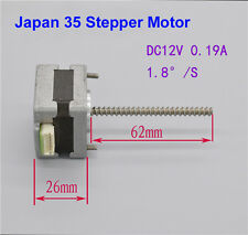 Japan 35 Stepper Motor 2Phase 4Wire/6 Wire 1.8°Stepping Motor Ball Bearing DC12V