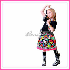 BonEful GIRL RTS 3 4 Minnie Zebra SKIRT Animal Kingdom Vacation DISNEY Boutique
