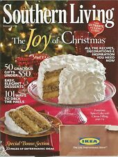 Southern Living December 2010 Spice Cake/101 Ways to Deck the Halls/Entertaining