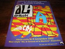 ALI DRAGON - PUBLICITE LE DERNIER CRI !!!NOVEMBRE