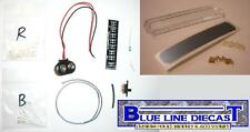 1/18 Flashing LED Police Lightbar Kit - Do It Yourself, Installs On ANY Model!