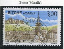 TIMBRE FRANCE OBLITERE N° 3018 BITCHE MOSELLE / Photo non contractuelle