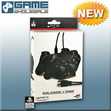 Oficial Ps3 Doble Twin De Carga Usb N Soporte Cable De Carga Dock Para Playstation 3