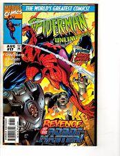 Lot Of 6 Spider-Man Unlimited Marvel Comic Books # 17 18 19 20 21 22 Venom GM12