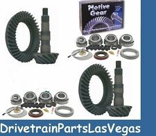 "GM 8.5"" Front Rear GM Chevy Ring and Pinion Upgrade Gear Set Master Kit Package"