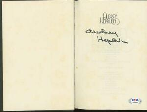 AUDREY HEPBURN signed hardcover autobiography | PSA/DNA LOA certified autograph